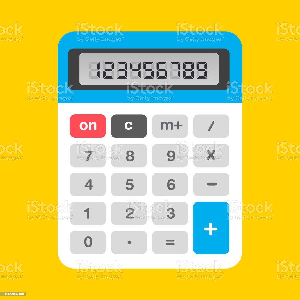 Taschenrechner Symbol - Lizenzfrei Computergrafiken Vektorgrafik