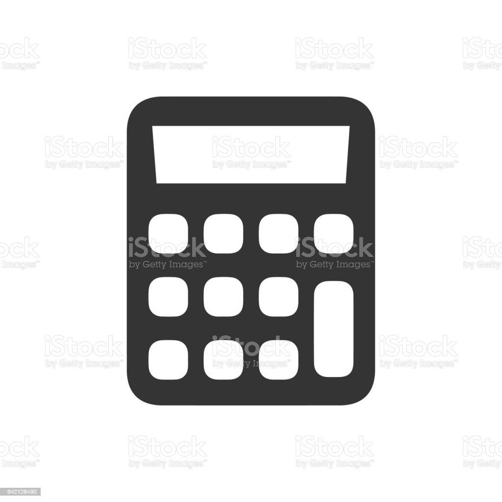 Taschenrechner Symbol Stock Vektor Art Und Mehr Bilder Von