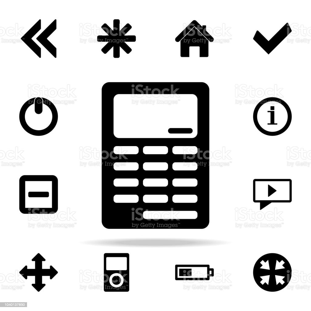 Calculator Icon Web Icons Universal Set For Web And Mobile