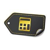 Calculator Purple Vector Icon Design