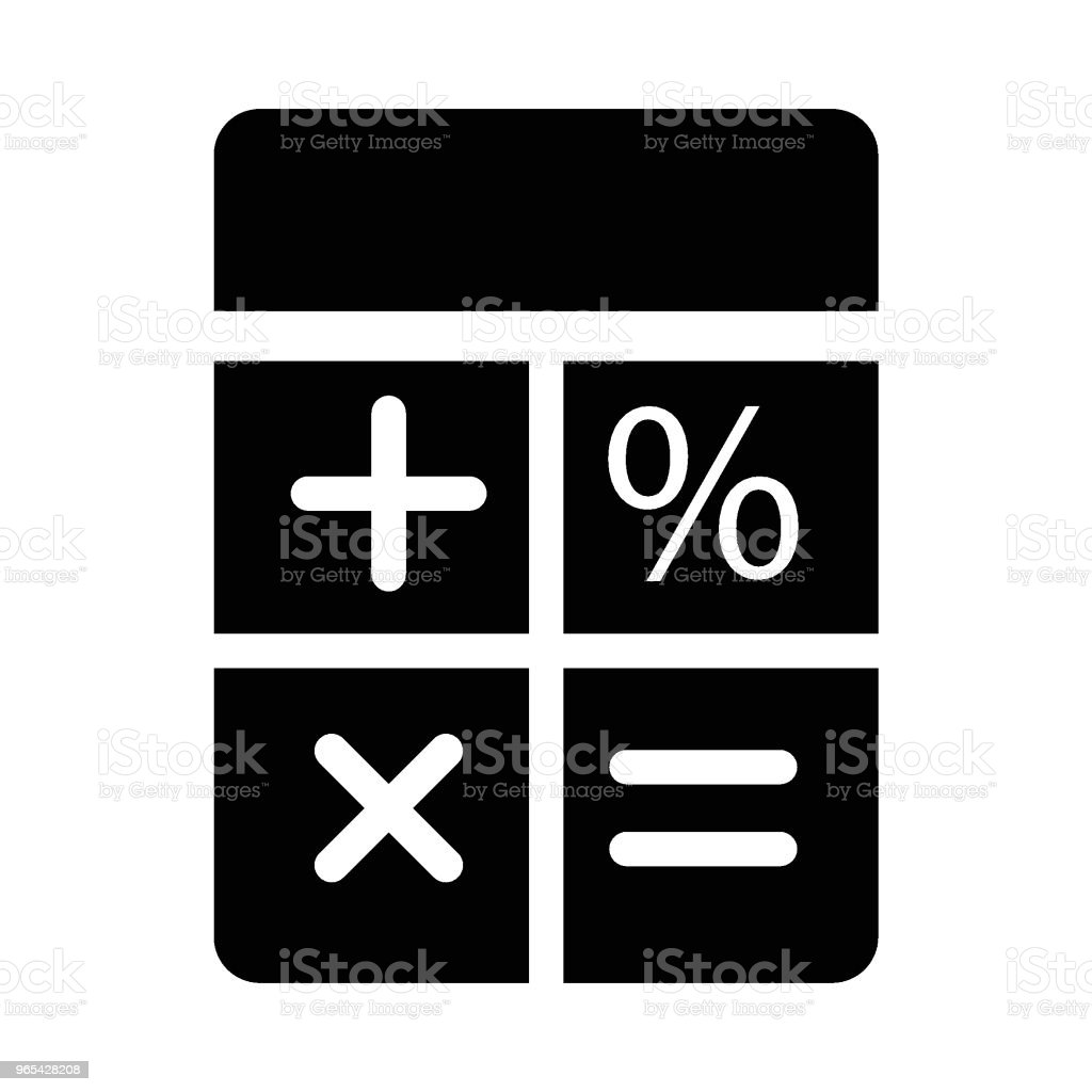 calculator royalty-free calculator stock illustration - download image now