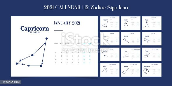 Astrology Sign, Andromeda, Animal, Aquarius - Astrology Sign, New year, calendar, 2021
