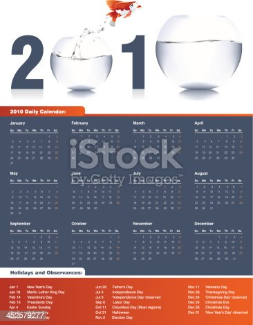 istock Calendar 2010 452579277