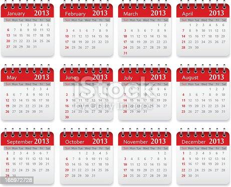 istock Calendar 2013 165972728