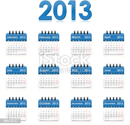 istock Calendar 2013 166055327