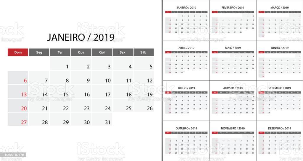Calendar 2019 week start on Sunday. royalty-free calendar 2019 week start on sunday stock illustration - download image now