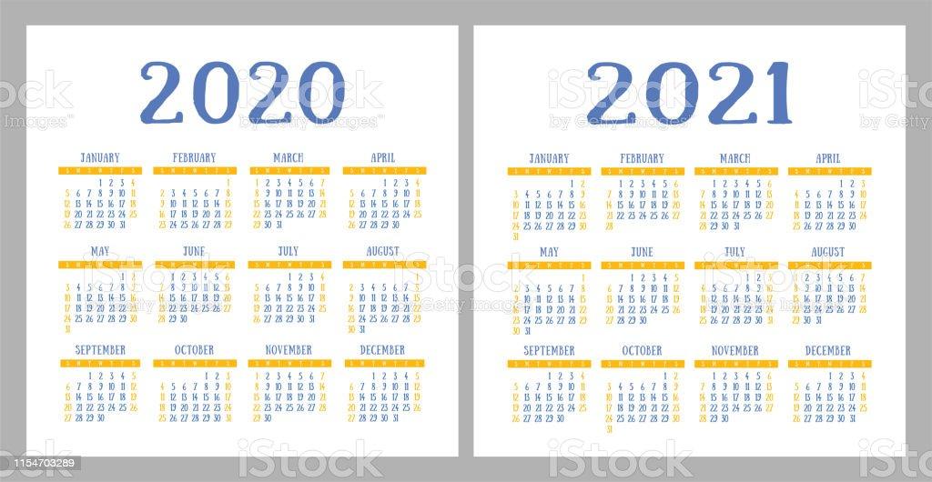 Calendrier 2020 2021.Calendrier 2020 2021 Modele De Conception De Calandre