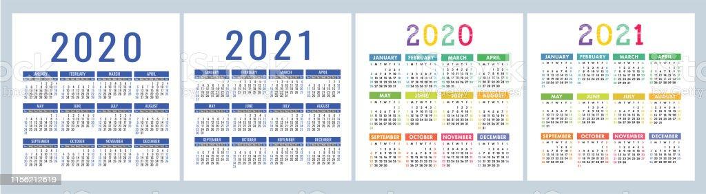 Calendrier 2020 Vectoriel Gratuit.Calendrier 2020 2021 Modele De Conception De Calendrier