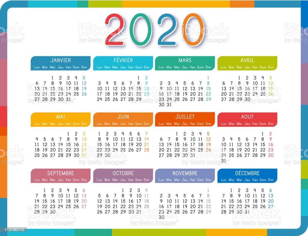 Calendario Liturgico 2020 2020.Calendario Frances 2020