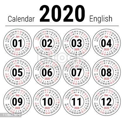 Calendario Julio Y Agosto 2020.ᐈ Imagen De Calendario De 2020 Imprimir Plantilla