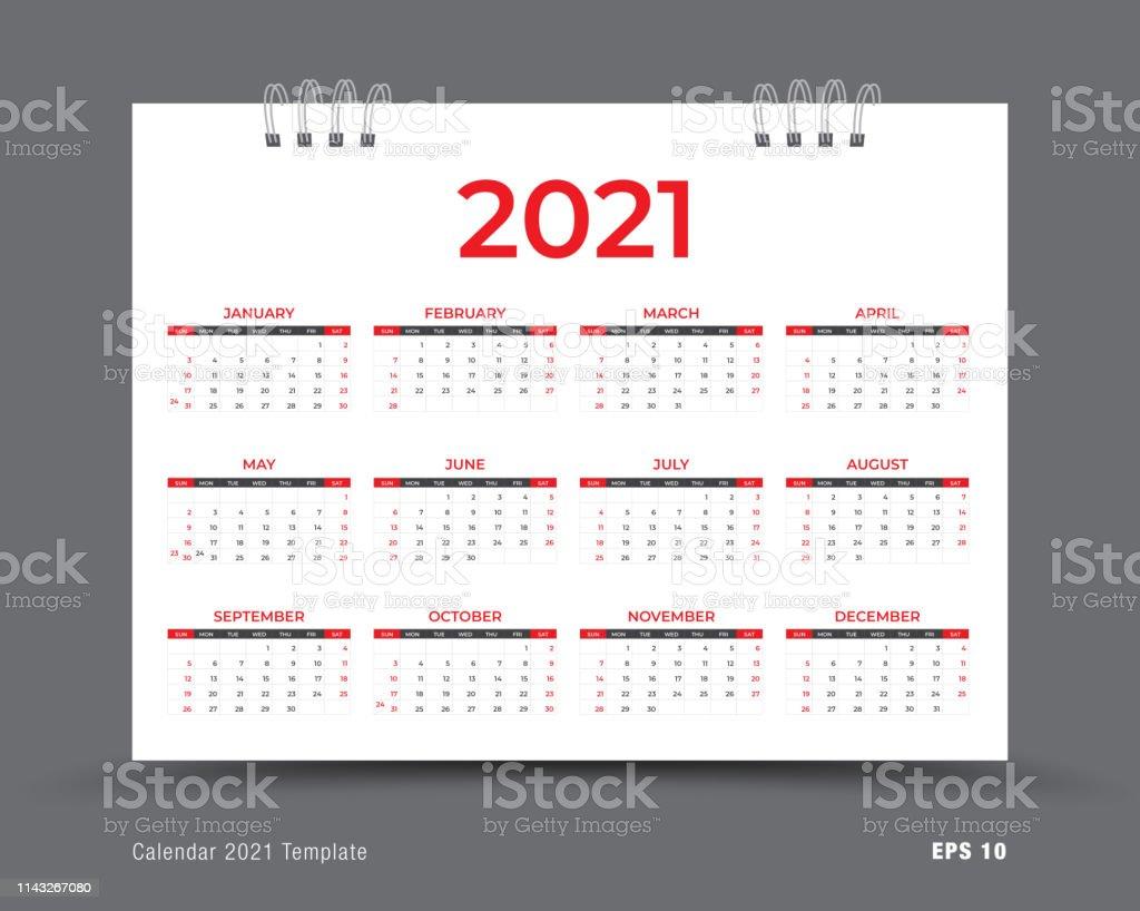 Calendrier 2021 Modèle De Mise En Page Calendrier Annuel De 12