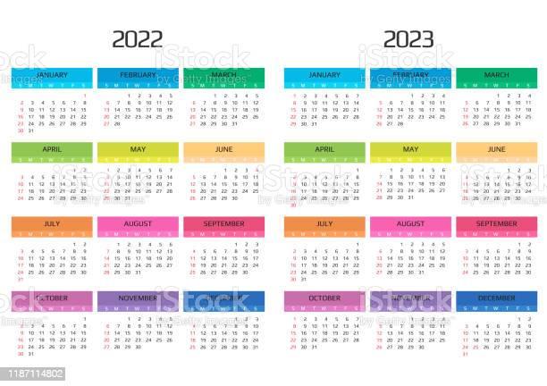Calendrier Feria 2022 Calendrier 2022 Et 2023 Modèle 12 Mois Inclure Lévénement De