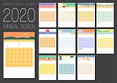 2020 Calendar and Planner Set