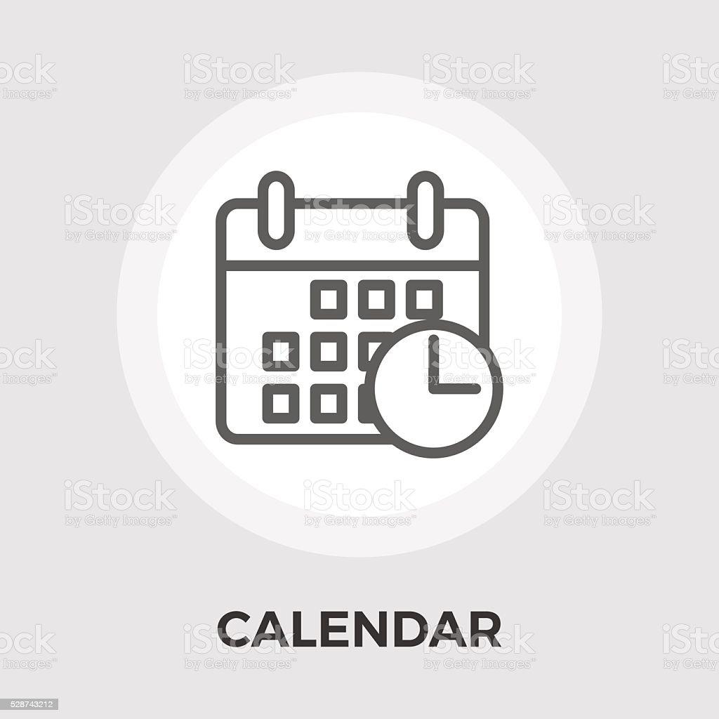 Calendar Flat Icon