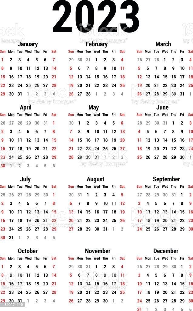 Calendar Illustration List : Calendar for stock vector art istock