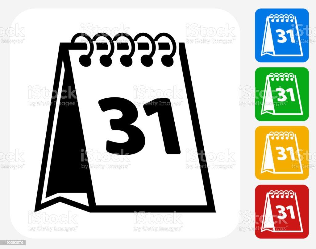 Calendar Graphic Design Images : Calendar icon flat graphic design stock vector art more