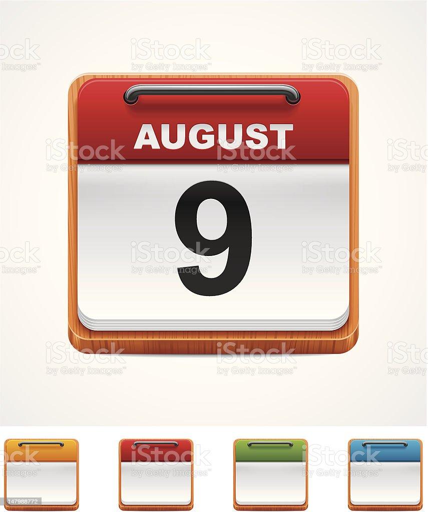 Calendar icon royalty-free calendar icon stock vector art & more images of blue