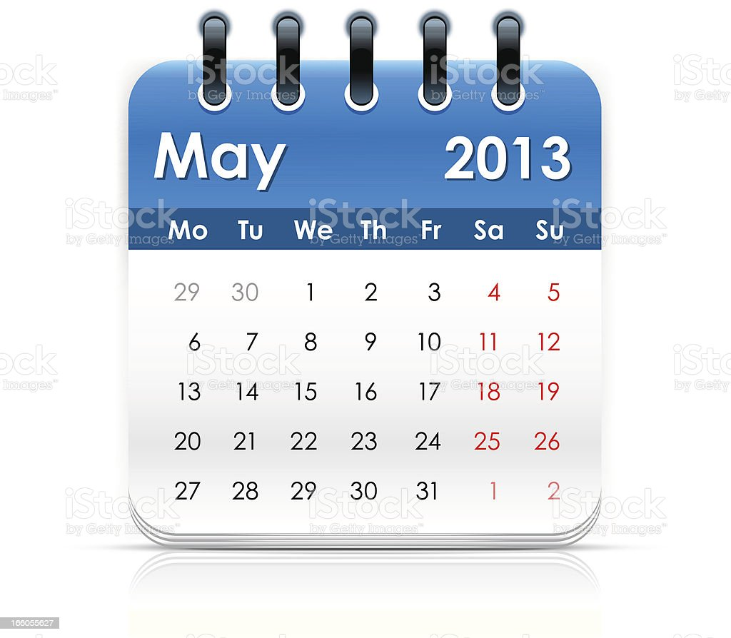 Calendar icon royalty-free calendar icon stock vector art & more images of 2013