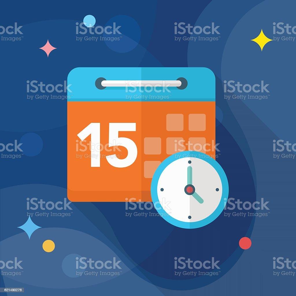 Icône du calendrier  icône du calendrier – cliparts vectoriels et plus d'images de activité avec mouvement libre de droits