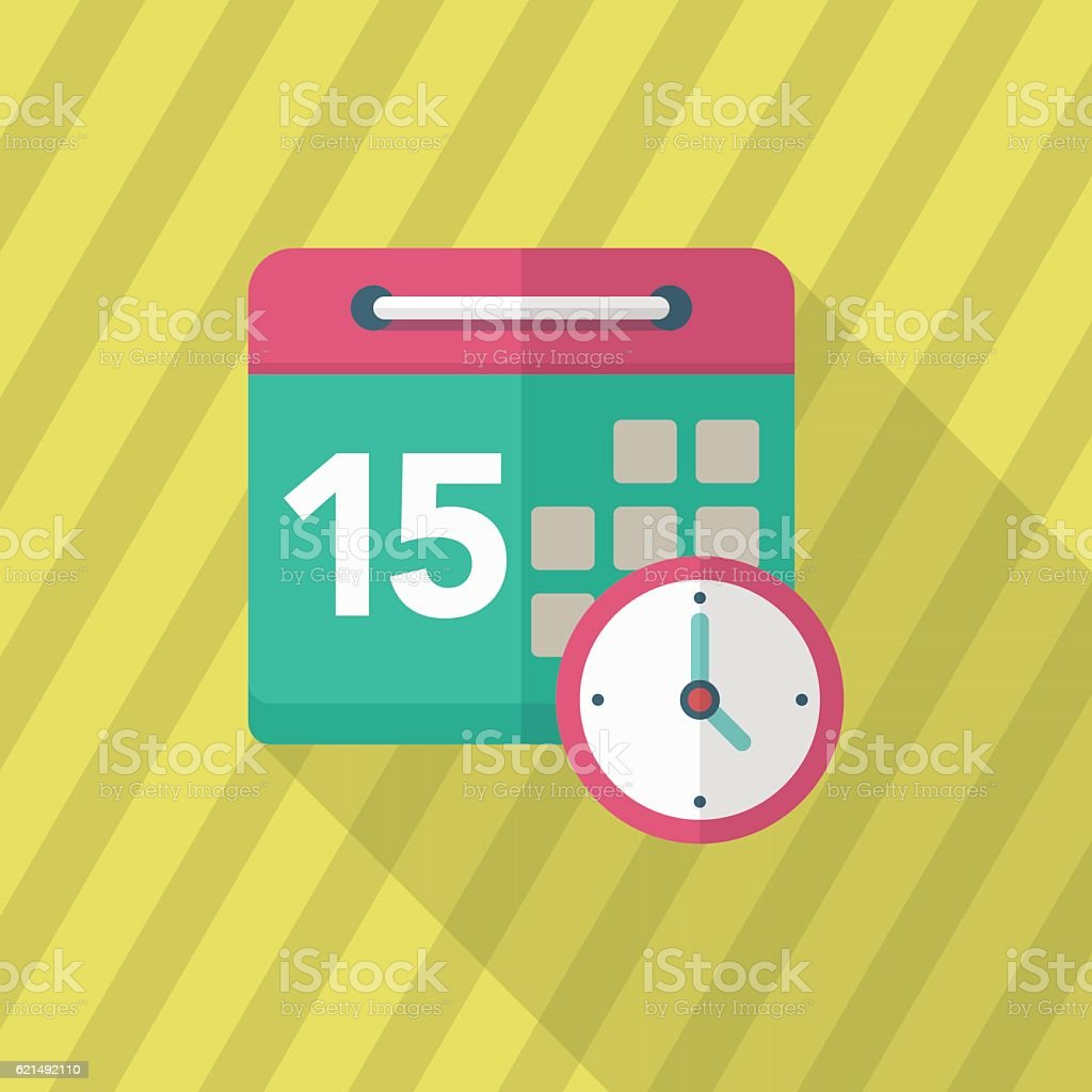 Kalender-Symbol  Lizenzfreies kalendersymbol stock vektor art und mehr bilder von bewegungsaktivität