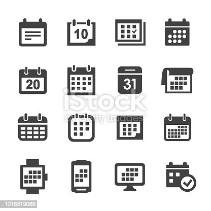 Calendar, Time, Date,