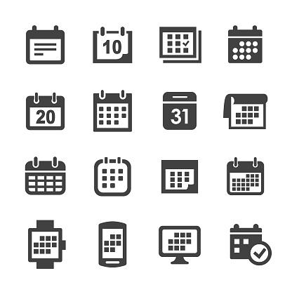 Calendar Icons - Acme Series
