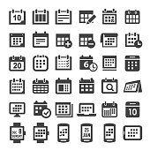 Calendar Icons - Big Series