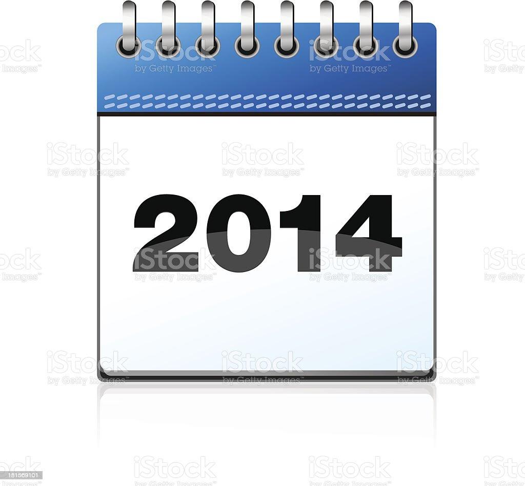 Calendar illustration 2014 royalty-free calendar illustration 2014 stock vector art & more images of 2014