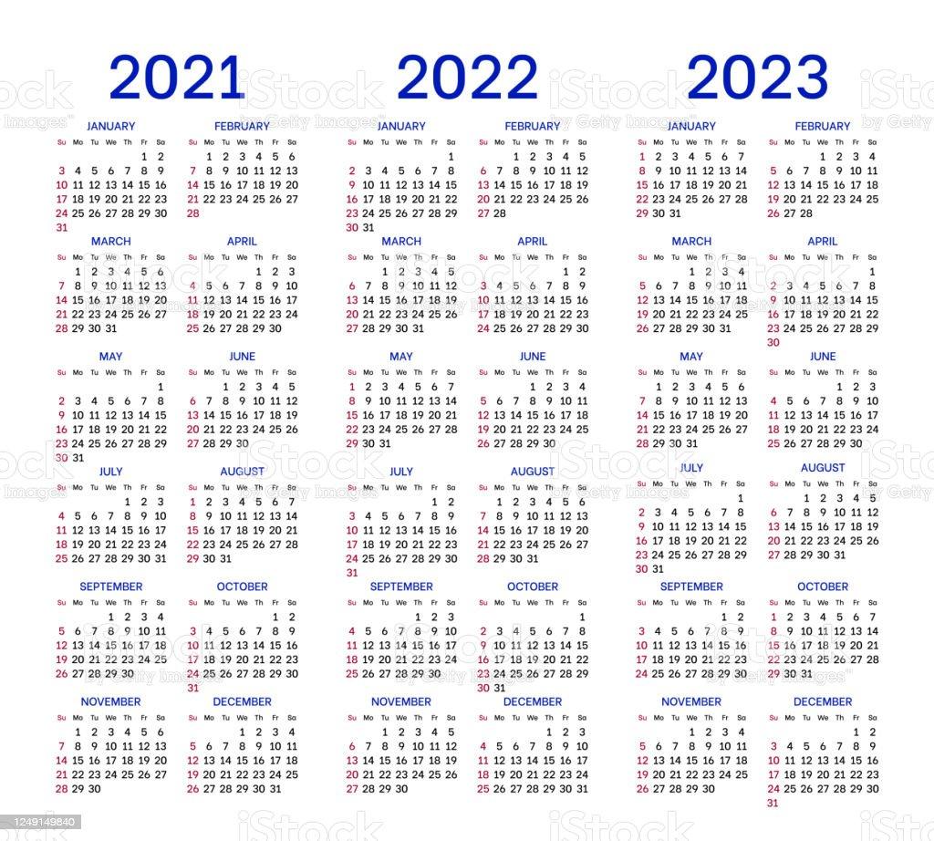 Calendrier Serie A 2022 2023 Dispositions De Calendrier Pour 2021 2022 2023 Années Vecteurs