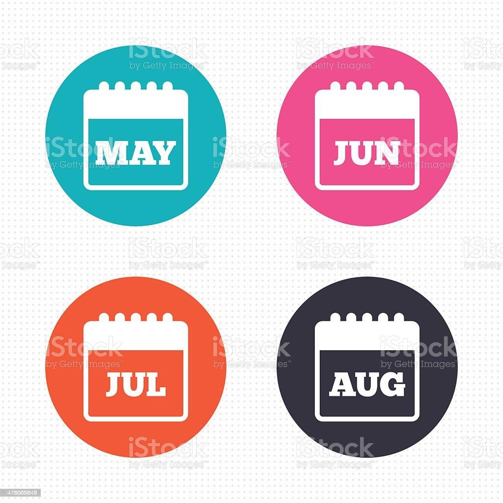カレンダーます5 月6 月7 月8 月 2015年のベクターアート素材や画像を