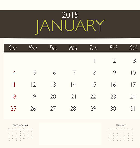 Royalty Free 2015 Calendar Monthly Calendar Template For June Clip