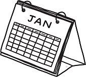 calendar of January