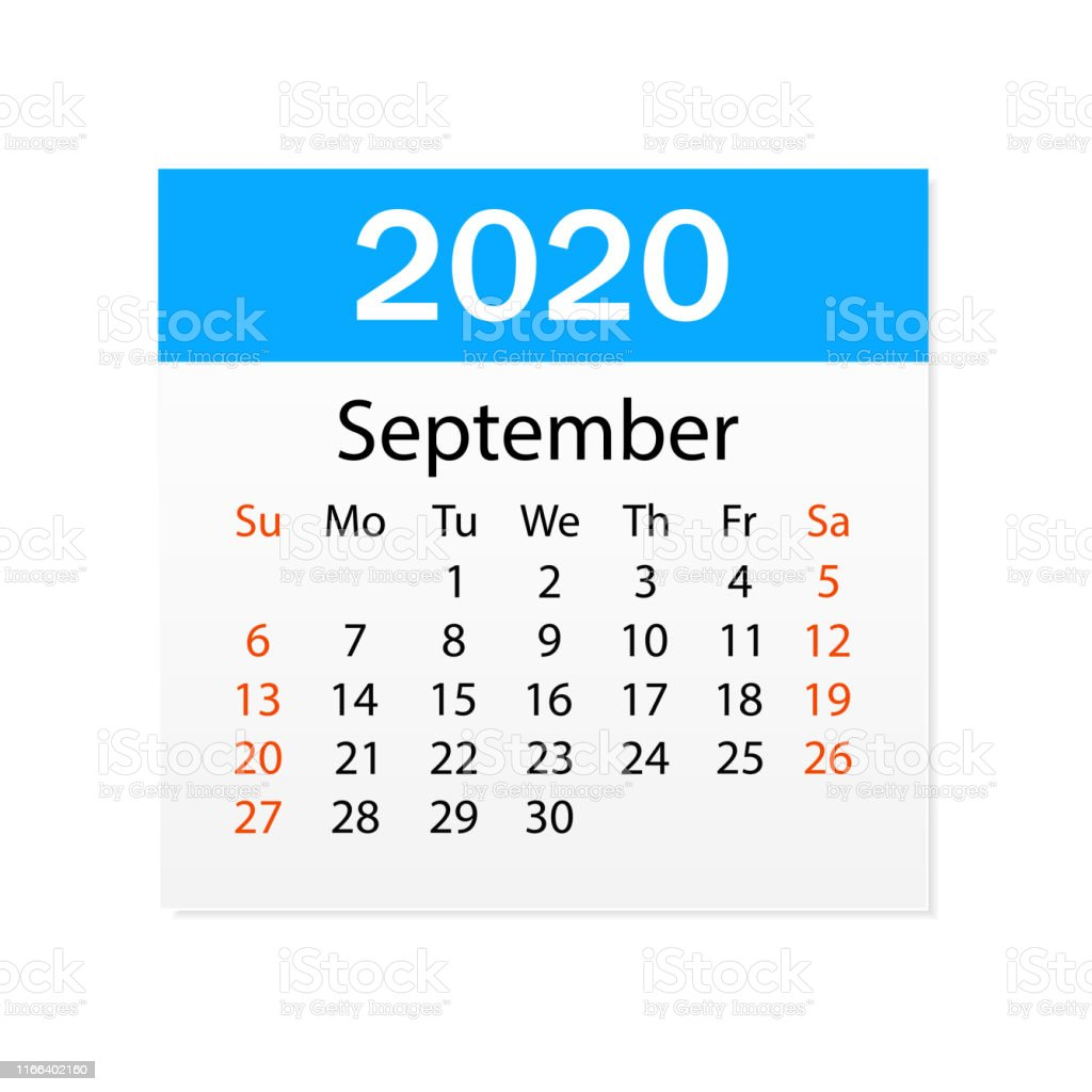 Calendrier De Septembre 2020.Calendrier De Septembre 2020 Organiseur Calendrier De
