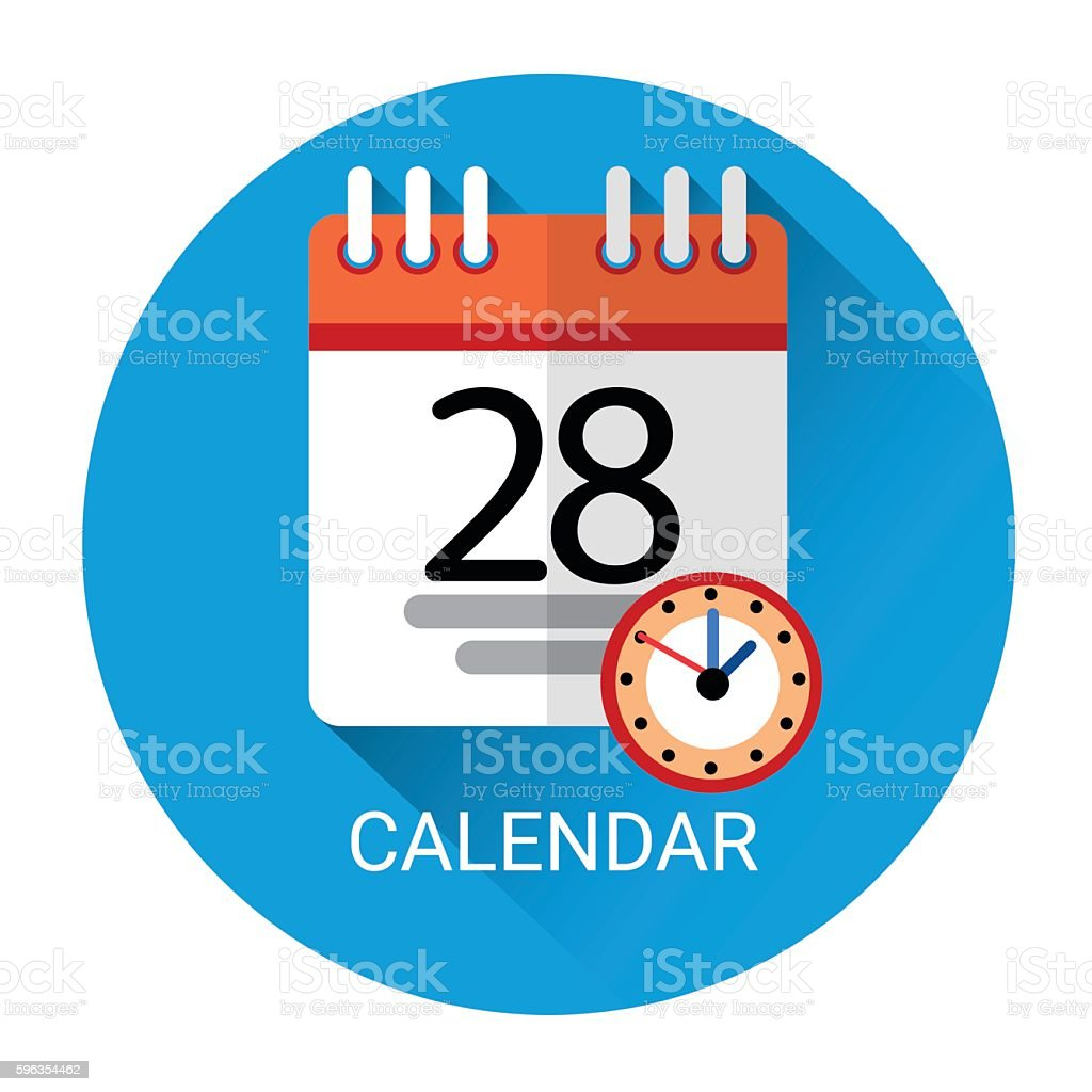Calendar Page Business Icon royalty-free calendar page business icon stock vector art & more images of business