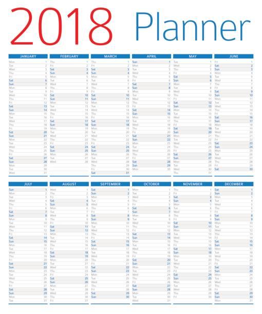 Calendar Vs Planner : Royalty free calendar clip art vector images