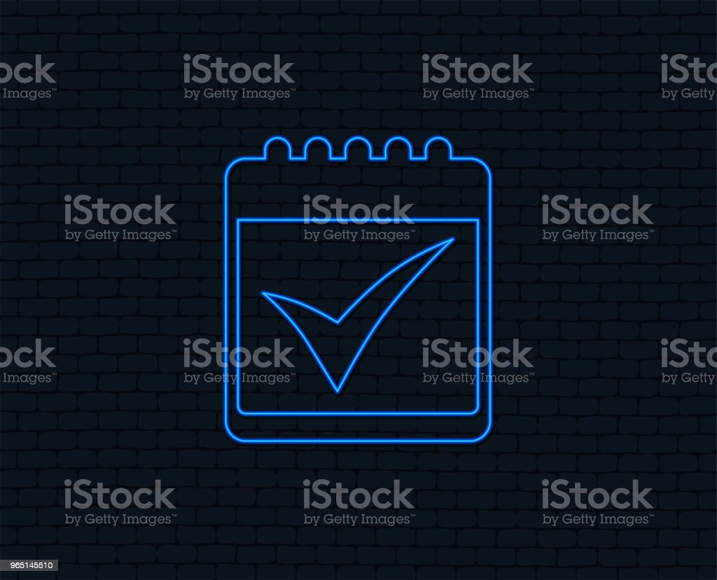 Calendar sign icon. Check mark symbol. royalty-free calendar sign icon check mark symbol stock vector art & more images of art