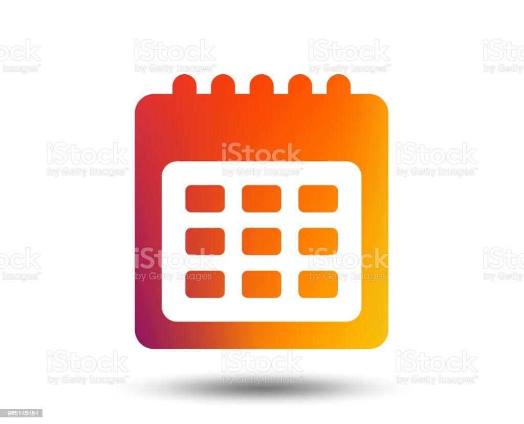 Calendar sign icon. Date or event reminder. calendar sign icon date or event reminder - stockowe grafiki wektorowe i więcej obrazów aplikacja mobilna royalty-free