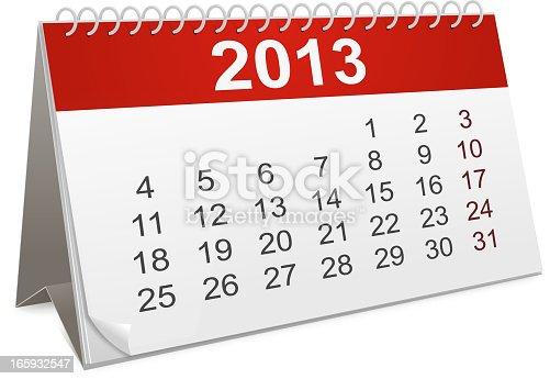 istock Calendar 165932547