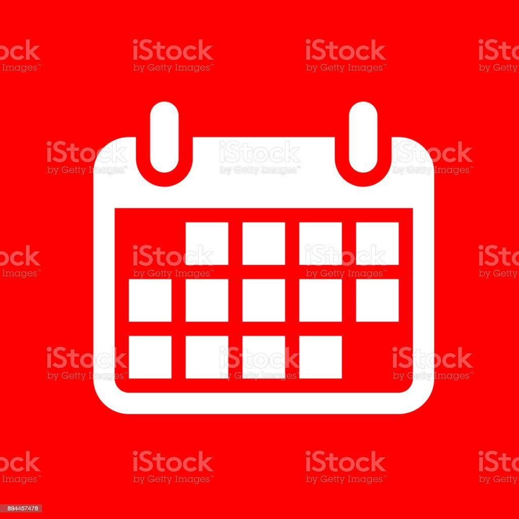 Calendar. vector art illustration