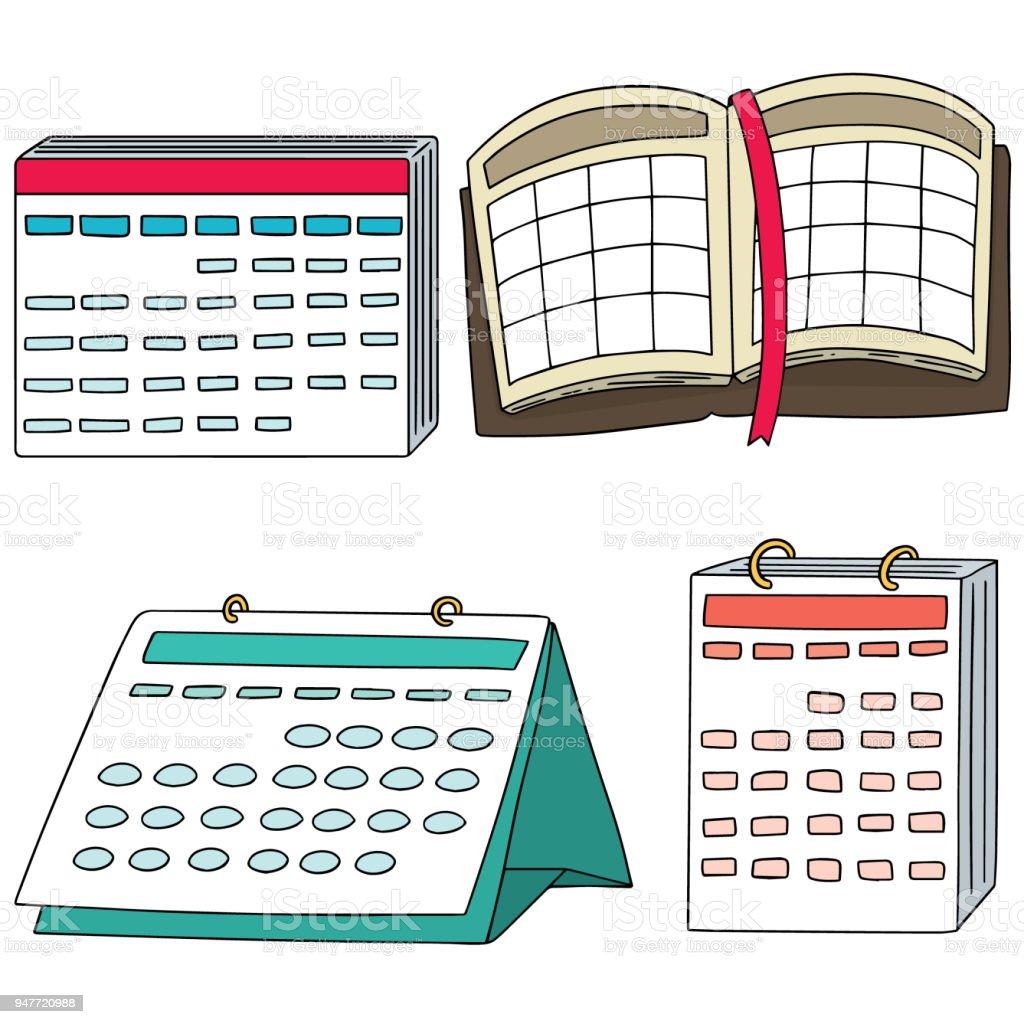 Calendrier Vecteurs Libres De Droits Et Plus D Images Vectorielles De Agenda Istock