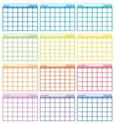 Calendar year 2020