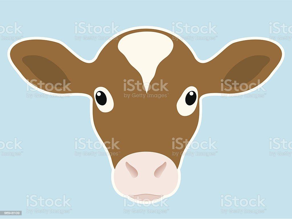 Calf head royalty-free calf head stock vector art & more images of animal