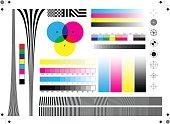 Calibration printing marks