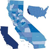 california & counties map