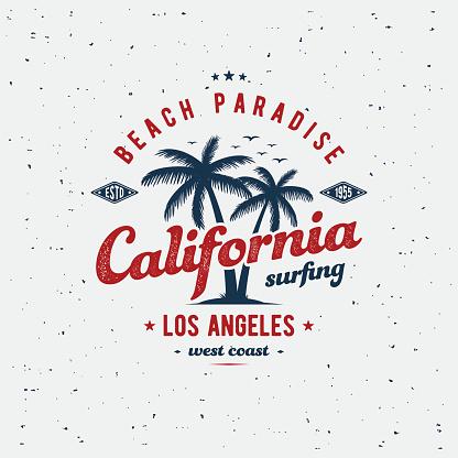 California print gray