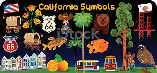istock California Symbols 1058481522