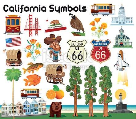 istock California Symbols 1148860602