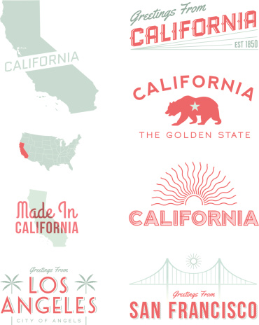 California Typography