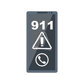 istock Call 911. Calling the rescue service vector 1325959573
