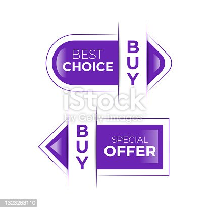 istock Call to Action vector pointer, buy now 1323283110